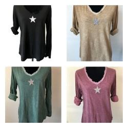 T-shirt ETOILE STRASS