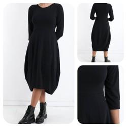 Robe noire BALLON