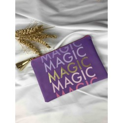 pochette MAGIC violette