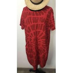 Robe TOURBILLON rouge