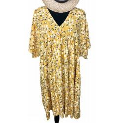 Robe JUSTINE jaune