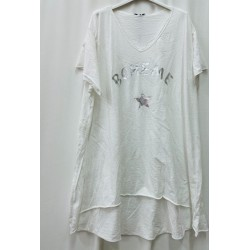 T-shirt/Tunique BOHEME blanc
